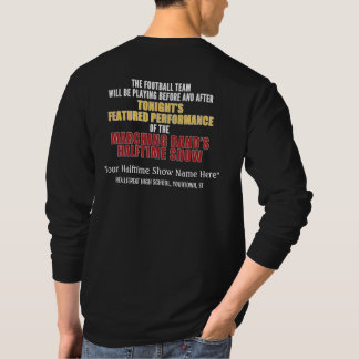 Marching Band Halftime Show Funny Custom Shirt