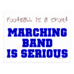 Marching Band is Serious Postcards