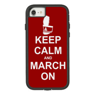 Marching Band Keep Calm and March On Case-Mate Tough Extreme iPhone 7 Case