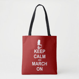 Marching Band | Keep Calm and March On Tote Bag