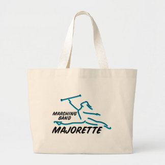 Marching Band Majorette Tote Bag