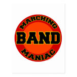 Marching Band Maniac Post Card
