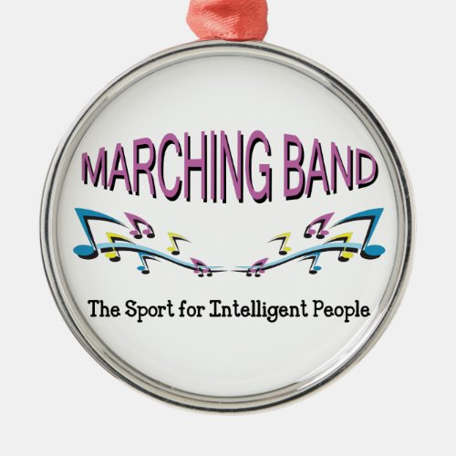 MARCHING BAND METAL ORNAMENT
