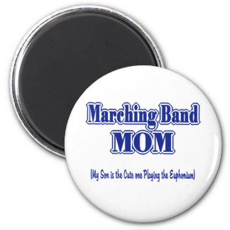 Marching Band Mom 2 Inch Round Magnet