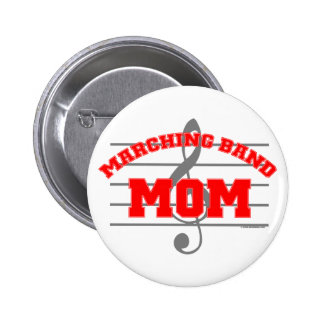 Marching Band Mom Buttons