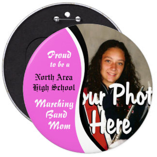 Marching Band Mom Button