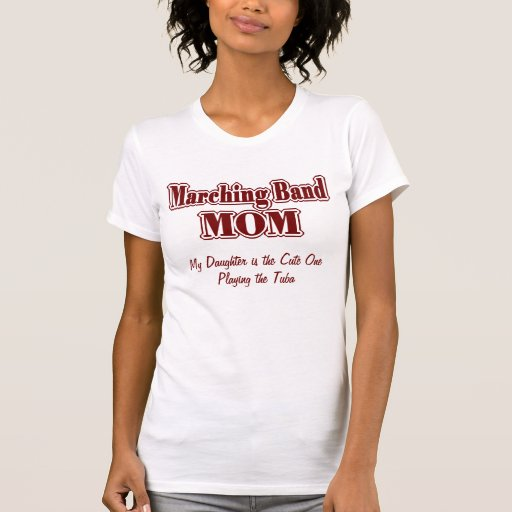 marching band mom daughter tee shirts zazzle