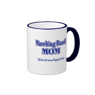 Marching Band Mom/ Drums Ringer Mug