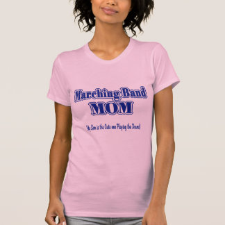 Marching Band Mom/ Drums Tshirt