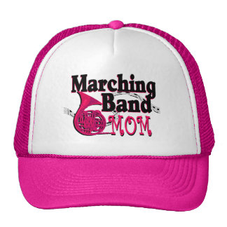 Marching Band Mom/ French Horn Trucker Hat