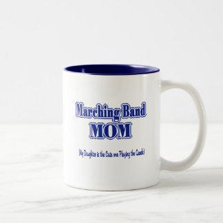 Marching Band Mom/ Quads Two-Tone Coffee Mug