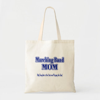 Marching Band Mom/ Sax Tote Bag