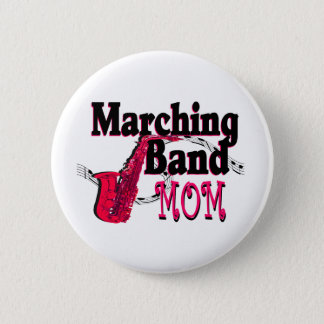 Marching Band Mom/ Saxophone Button