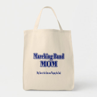 Marching Band Mom/ Saxophone Tote Bag