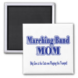 Marching Band Mom/ Trumpet Refrigerator Magnet
