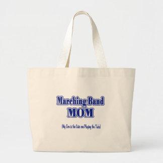 Marching Band Mom/ Tuba Large Tote Bag