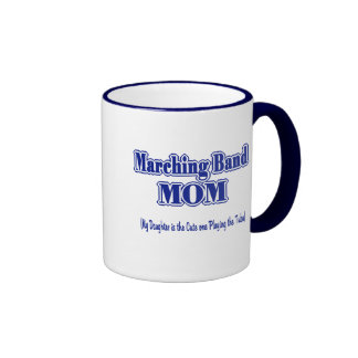 Marching Band Mom/ Tuba Ringer Mug