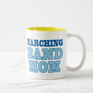 Marching Band Mom Two-Tone Coffee Mug