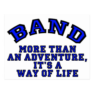 Marching Band: More Than An Adventure... Postcard