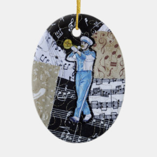 Marching Band Music Ornament