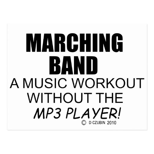 Workout Bands Music: Marching Band Music Http://www.zazzle.com/marching_band