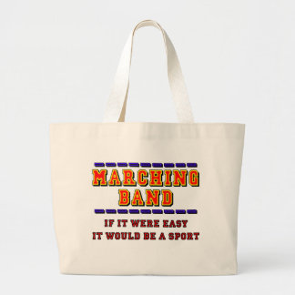 Marching Band - Not A Sport Large Tote Bag