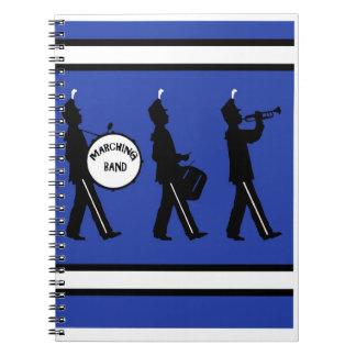 Marching Band notebook ,Copyright Karen J Williams