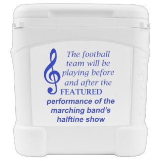 Marching Band Performance 1058 Rolling Cooler