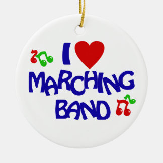 Marching Band Photo Ceramic Ornament