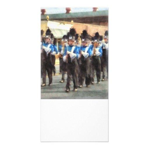 Marching Band Photo Greeting Card