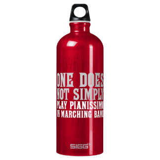 Marching Band Pianissimo Water Bottle