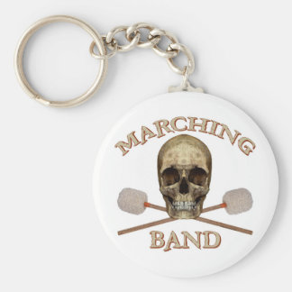 Marching Band Pirate Keychain