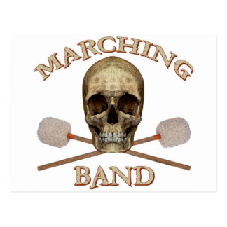 Marching Band Pirate Postcard