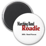 Marching Band Roadie 2 Inch Round Magnet