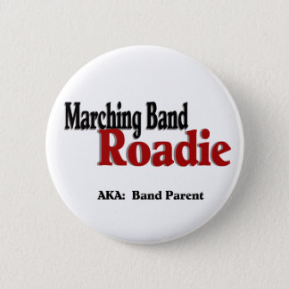 Marching Band Roadie Button