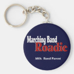 Marching Band Roadie Key Chain