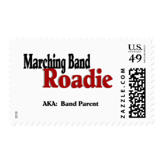 Marching Band Roadie Postage