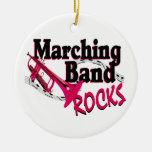 Marching Band Rocks Christmas Tree Ornaments