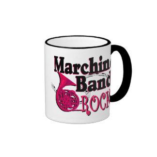 Marching Band Rocks/ french horn Ringer Mug