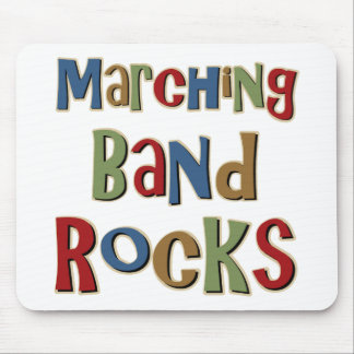 Marching Band Rocks Mouse Mats