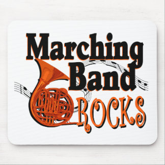Marching Band Rocks Mouse Pad