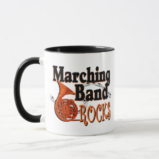 Marching Band Rocks Mug