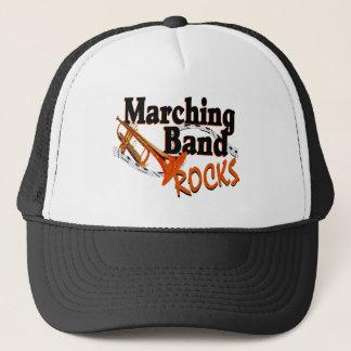 Marching Band Rocks Trucker Hat