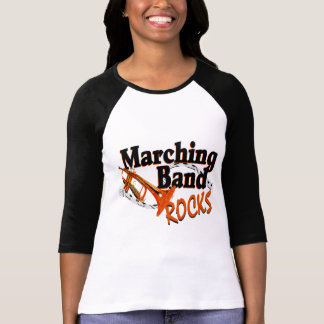 Marching Band Rocks Tee Shirts