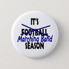 Marching Band Season Button at Zazzle