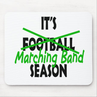Marching Band Season Mouse Pad