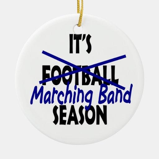 Marching Band Season Christmas Tree Ornament
