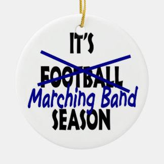 Marching Band Season Photo Christmas Tree Ornament