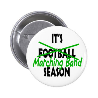 Marching Band Season Pinback Button
