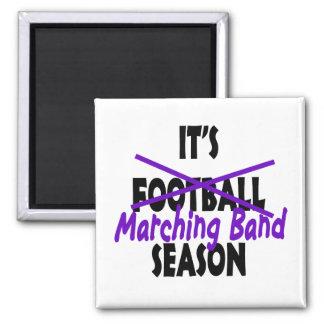 Marching Band Season/ Purple Refrigerator Magnet